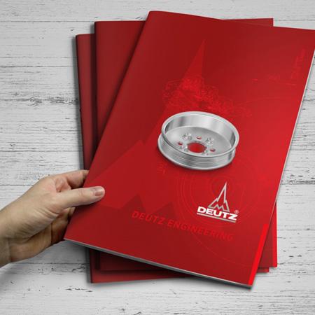 grafičo oblikovanje tiskovin - kataloga in brošure