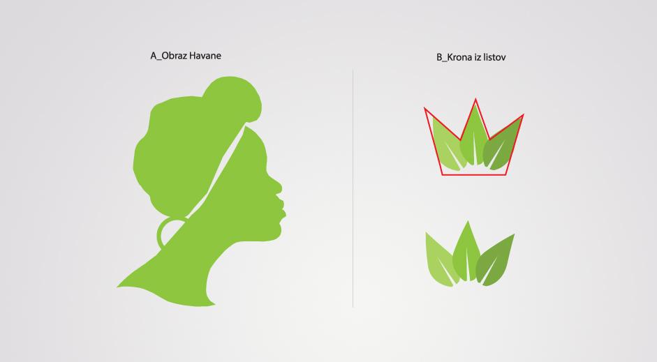 Grafični element k logotipu