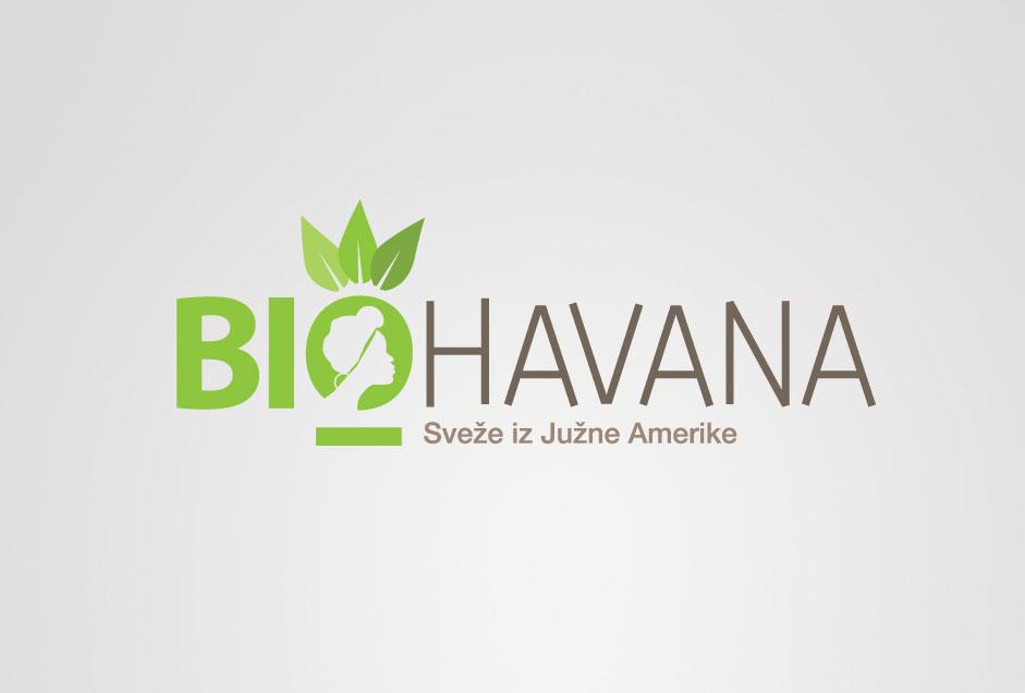 Logotip podjetja Biohavana