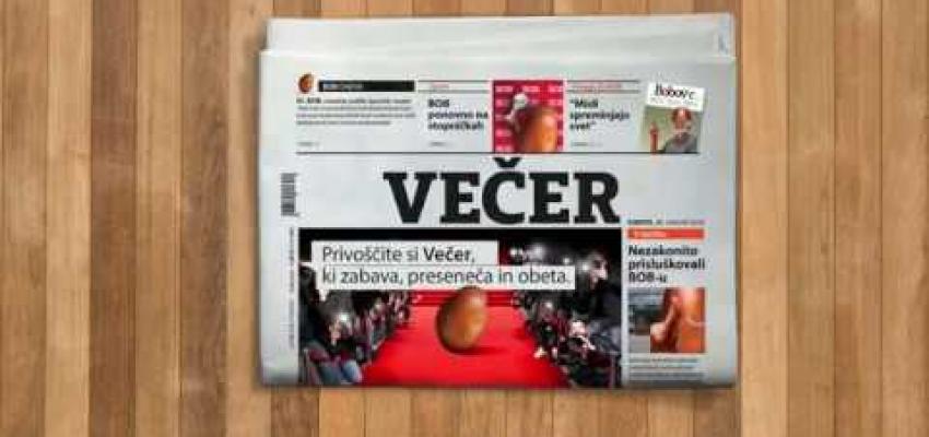 Embedded thumbnail for Večer: BOB leta - animirani TV oglas